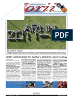 Torii U.S. Army Garrison Japan weekly newspaper, Dec. 1, 2011 edition