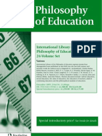 9780415559461 Education Phylosophy by Routledge