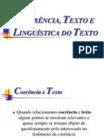 Coerência, Texto e Linguística do Texto 02