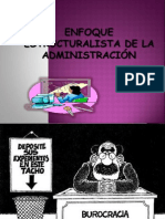 Enfoque Estructuralista de La Admin is Trac Ion 3