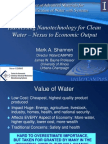 Nano for Clean Water