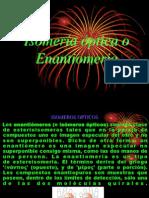 Isomería óptica o Enantiomeria