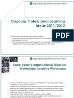 DERNSW Professional Learning Ideas - 2011/12