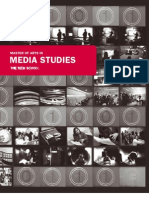 2008 Fall Media Studies Viewbook