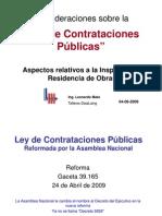 FUNCIONES INSPECTRO RESIDENTE 5929 -2009