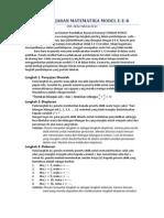 Contoh Penerapan Prinsip Eek Dalam Pembelajaran Matematika