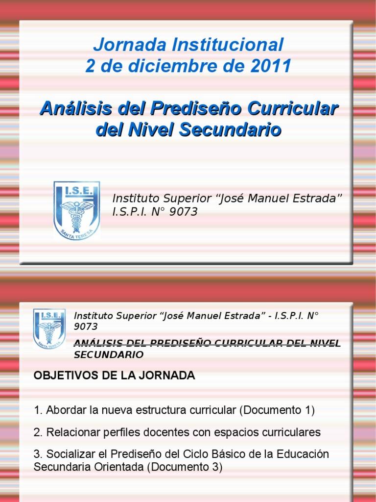 Jornada Institucional 2 12 2011