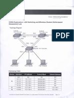 CCNA 3 Skills Based Assessment