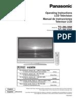 Panasonic Hdtv Tc32lx60