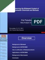 Pat Patodia's Presentation