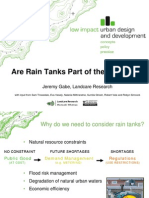 New Zealand; Are Rain Tanks (Rain Barrels) Part of the Answer