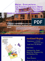 New Zealand; Quantifying Possible Domestic Water Demand Savings Through The Use Of Rainwater Collection from Residential Roofs - Auckland