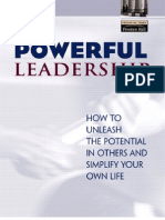 Powerful Leadership How to Unleash the Potential in Others and Simplify Your Own Life-Viny