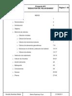 REDUCTOR DE VELOCIDADES