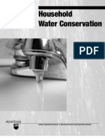 Pennsylvania; Household Water Conservation - Penn State University
