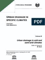 UN; Urban Drainage In Specific Climates