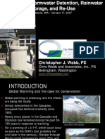 Washington; Cisterns For Stormwater Detention, Rainwater Storage, And Re-Use - University Of Washington