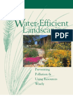 USA; Water Efficient Landscaping