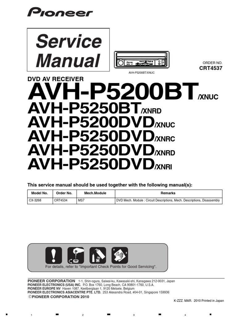 Pioneer Avh P5200dvd Wiring Diagram 35 Images P6500dvd 1509749286 P5200bt Mp3 Laser P4200dvd At