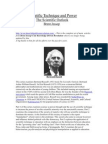 Set of Main Articles From Knowledge Driven Revolution