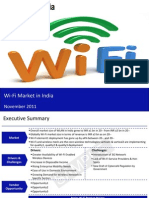 Market Research Report :Wi-Fi Market in India 2011