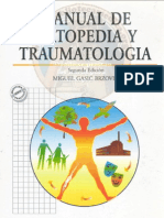 Manual de  Ortopedia y  Traumatología Gasic