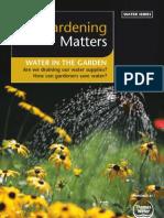 UK; Gardening Matters