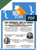 NDPstar 2012 Leadership Policy Platform