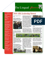 The Lingual Groove - WINTER 2010