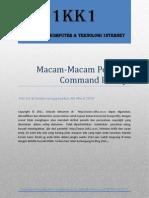 Macam-Macam Perintah Command Prompt