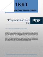 """Turbo C++ """"Tiket Kereta Api"""""""