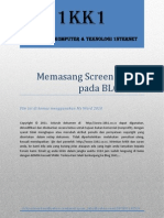 Memasang Screen Server Pada BLOGGER