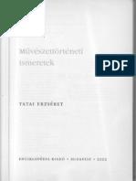 Tatai Erzsébet - Művészettörténeti Ismeretek