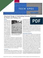 Interlock Pavement Design Guide