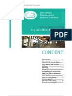 IPSF Official Account Guideline
