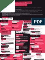 Programme Foire des savoir-faire Saint-Denis