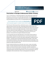 Stratfor Nov 30 11 Fed Action Dollar Primacy