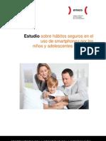 Estudio sobre hábitos seguros en el uso de smartphones por los niños y adolescentes españoles