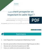 Comment prospecter en respectant le cadre legal ?