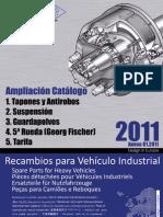 Ampliación Catálogo 2011