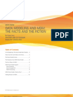 Data Modeling and MDM