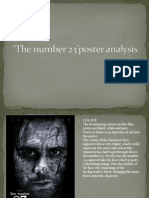 The number 23' poster analysis