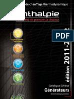 Catalogue Enthalpie 2011