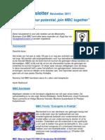 MBC Newsletter 01-11-2011