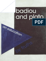 Badiou and Plato