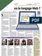 Les nouveaux mots du Web - Le Parisien - 30 nov 2011