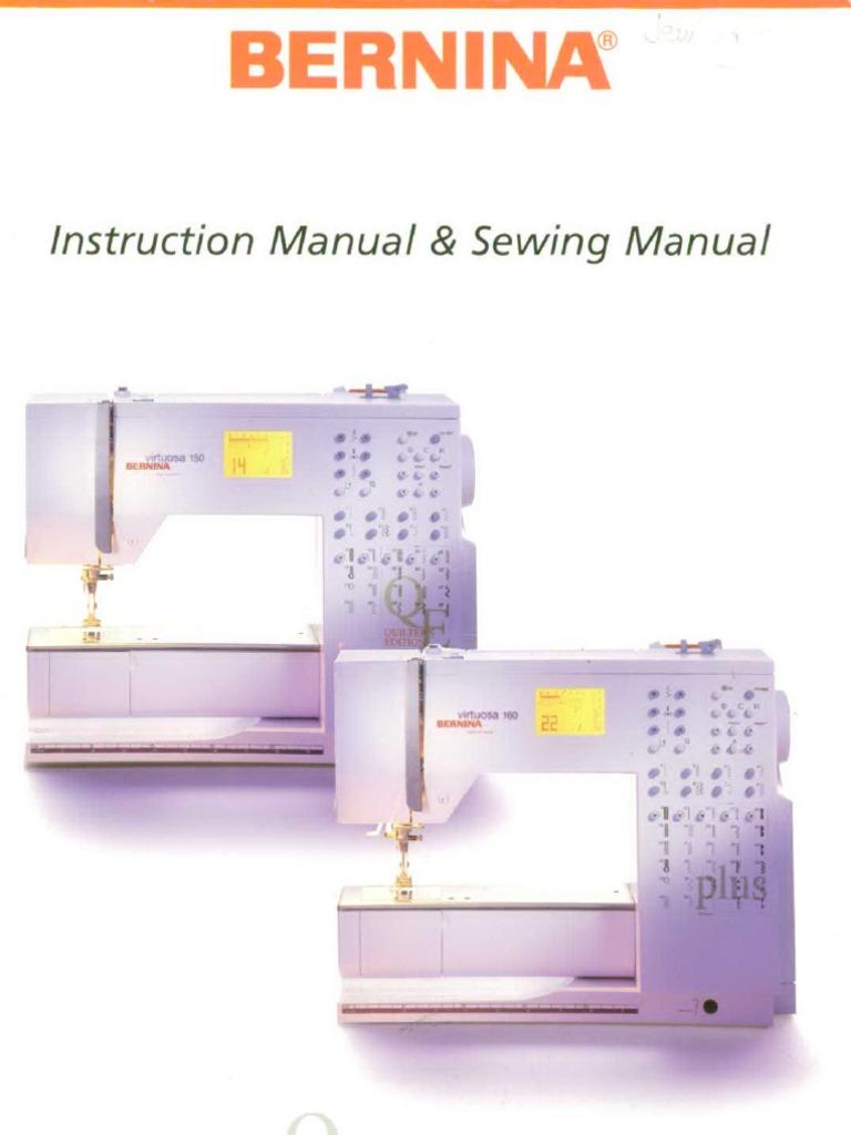 Bernina 150 160 sewing machine seam sewing fandeluxe Images