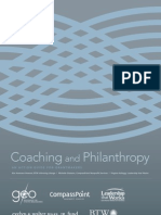 Coaching and Philanthropy. an Action Guide for Grant Makers Grant Makers for Effective Organizations. 2010