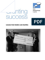 Granting Success. Lessons From Funders and Charities Brick Kail Jrvinen and Fiennes New Philanthropy Capital January 2009