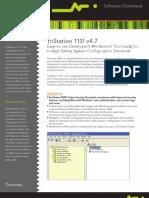 Datasheet Triconex TriStation1131v4!7!11-10